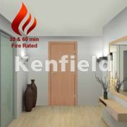 Beech Veneer Interior Flush Doors