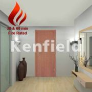 Cherry Veneer Interior Flush Doors