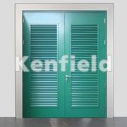 K1750 Louvered Panel & Substation Steel Security Doors