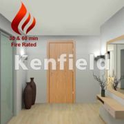Oak Veneer Interior Flush Doors