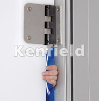 K150 Polyethylene Food Hygiene Door: Protection and reduces jams