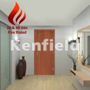 Sapele Veneer Interior Flush Doors