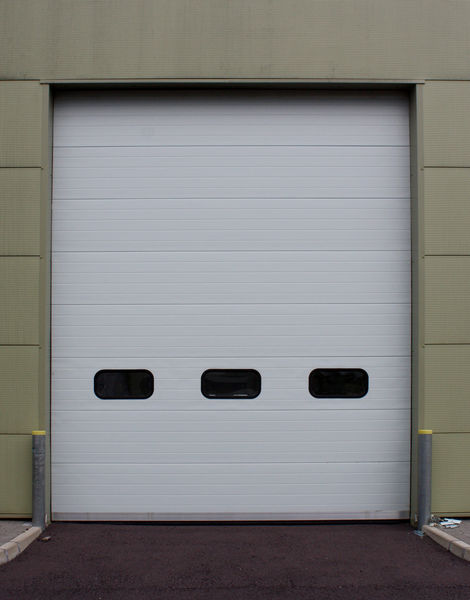 K insulated sectional overhead door