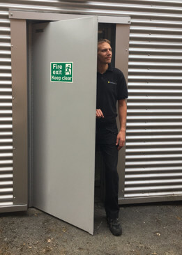 Steel Security & Fire Exit Doors