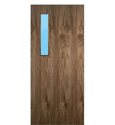 Non Fire Rated Walnut Veneer K 3g Glazed Non Fire Rated Walnut Veneer Interior Flush Doors